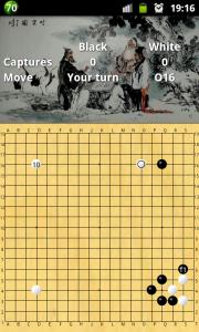 GOdroid - игра на доске 19x19