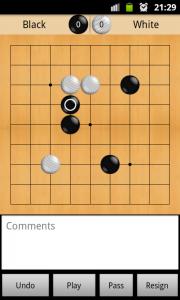 Agora Go - игра в Го на поле 9x9