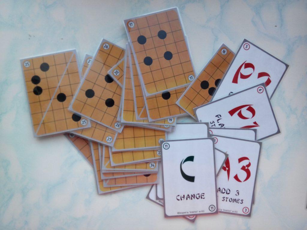 Внешний вид карт игры Данго